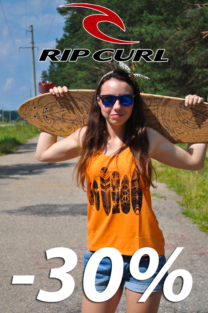 Скидки на весь ассортимент RipCurl
